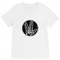 live long and prosper spock V-Neck Tee | Artistshot