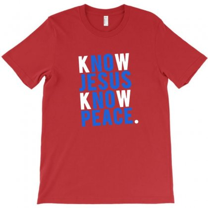 Know Jesus Know Peace Merch T-shirt Designed By Willo