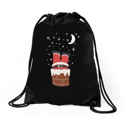 Christmas Chimney Drawstring Bags Designed By Teeshop