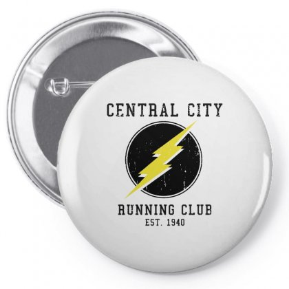 Central City Running Club Pin-back Button Designed By Scarlettzoe