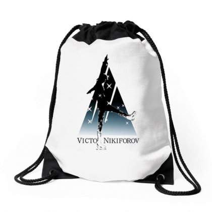 Yuri On Nice Drawstring Bags Designed By Willo
