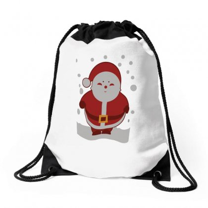 Christmas Santa Drawstring Bags Designed By Teeshop