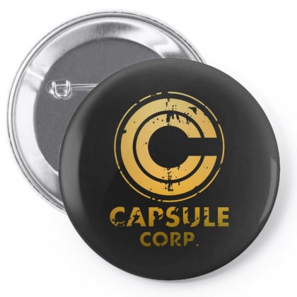 Capsule Corp Pin-back Button Designed By Scarlettzoe