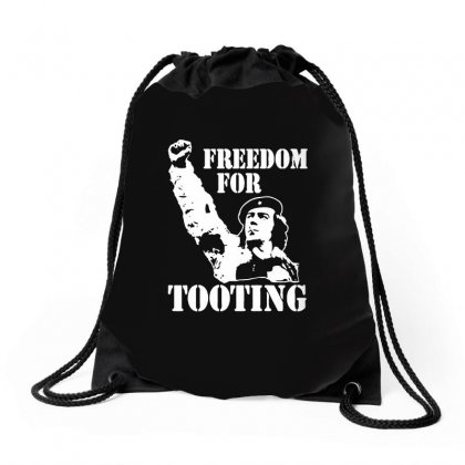 Citizen Smith Freedom For Tooting Drawstring Bags Designed By Teeshop