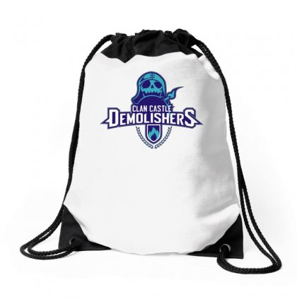 Clan Destroyers Drawstring Bags Designed By Teeshop