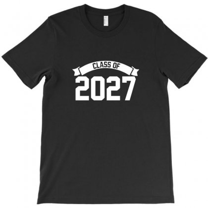 Class Of 2027 Novelty High School Elementary T-shirt Designed By Teeshop