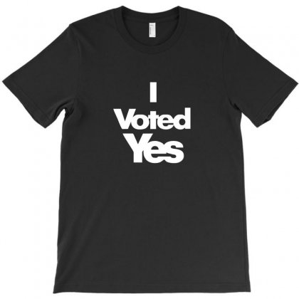 I Voted Yes For Scotland Scottish Independence 2014 T-shirt Designed By Enjang