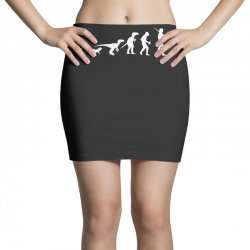 icke evolution t shirt   funny Mini Skirts | Artistshot