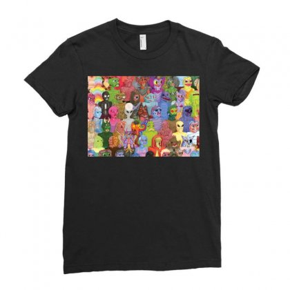 Cyberpunx Ladies Fitted T-shirt Designed By Equinetee