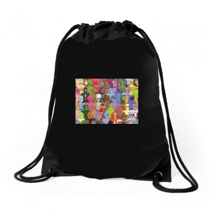 Cyberpunx Drawstring Bags Designed By Equinetee