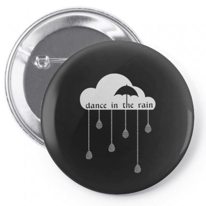 Dance In The Rain Pin-back Button Designed By Equinetee