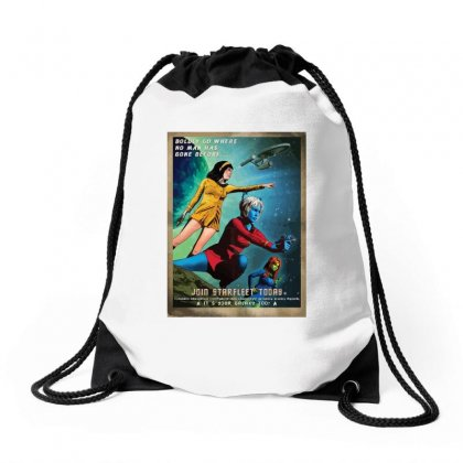 Dance Of The Orion Women & It's Your Galaxy Too! Drawstring Bags Designed By Equinetee