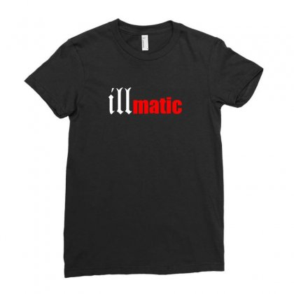 Illmatic Ladies Fitted T-shirt Designed By Enjang
