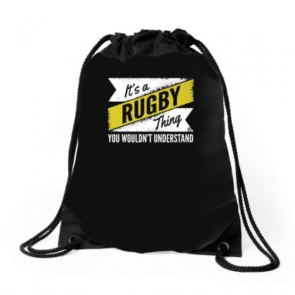 It's A Rugby Thing ... Understand Drawstring Bags Designed By Enjang
