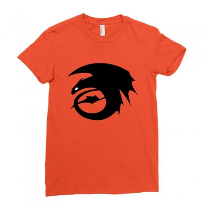 Strike Class Dragon Symbol Ladies Fitted T-shirt Designed By Michelziud