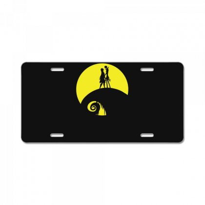 Jack And Sally License Plate Designed By Enjang