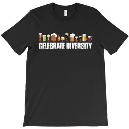Celebrate Diversity   Beer T Shirt T-shirt Designed By Hung