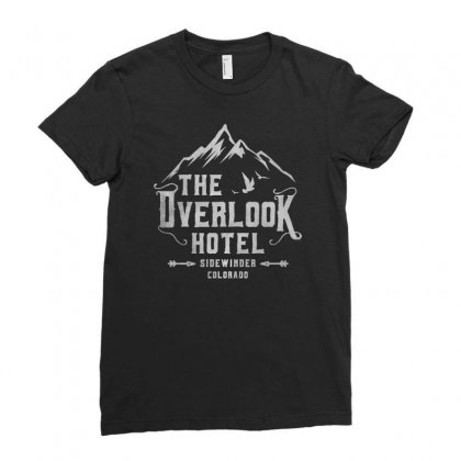 The Overlook Hotel Dark Style Ladies Fitted T-shirt Designed By Meganphoebe