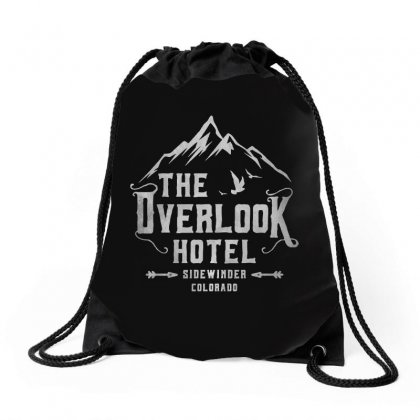 The Overlook Hotel Dark Style Drawstring Bags Designed By Meganphoebe