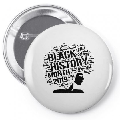 Black History Month 2019 In The Black Pin-back Button Designed By Meganphoebe