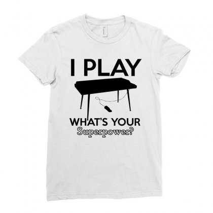 Keyboard My Passion Instrument Ladies Fitted T-shirt Designed By Cogentprint