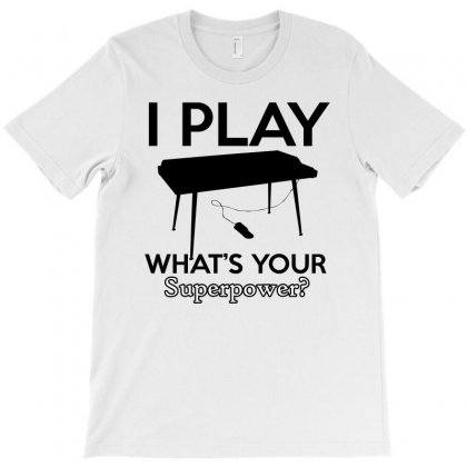 Keyboard My Passion Instrument T-shirt Designed By Cogentprint