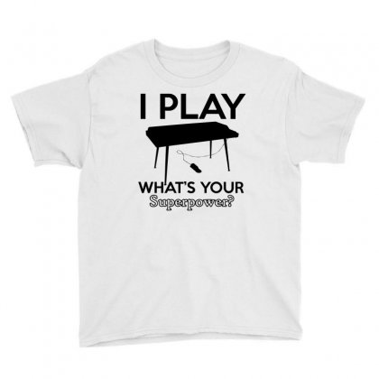 Keyboard My Passion Instrument Youth Tee Designed By Cogentprint