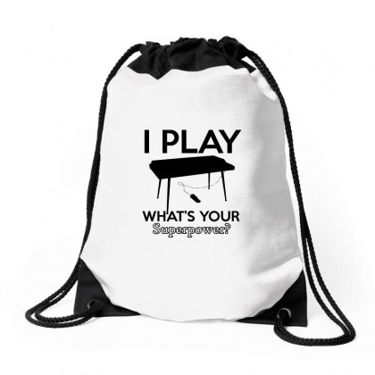 Keyboard My Passion Instrument Drawstring Bags Designed By Cogentprint