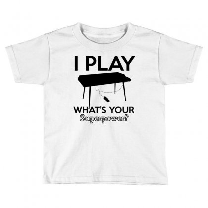 Keyboard My Passion Instrument Toddler T-shirt Designed By Cogentprint