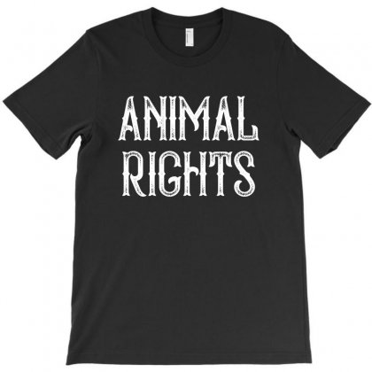 Animal Rights For Dark T-shirt Designed By Sengul