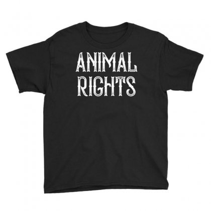 Animal Rights For Dark Youth Tee Designed By Sengul