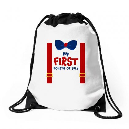My First Fourth Of July Drawstring Bags Designed By Sengul