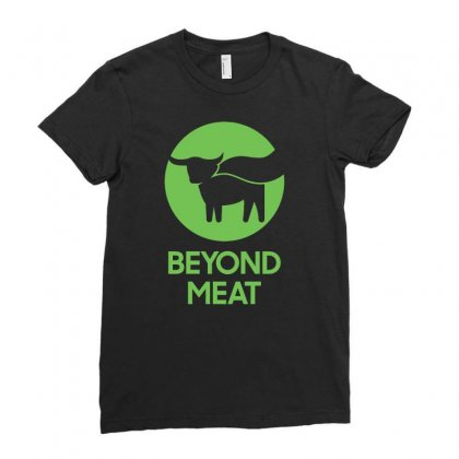 Beyond Meat Ladies Fitted T-shirt Designed By Badaudesign