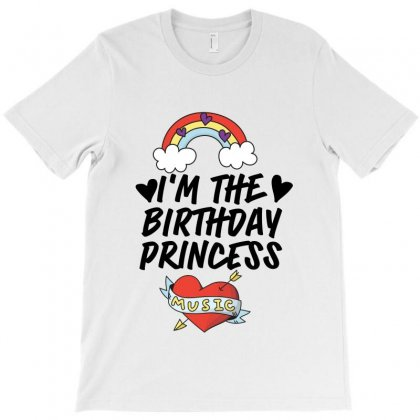 I'm The Birthday Princess T-shirt Designed By Tiococacola