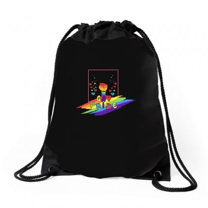 Gay Pride Rights Csd Pride Statement Lgbt Gift Drawstring Bags Designed By Omer Acar