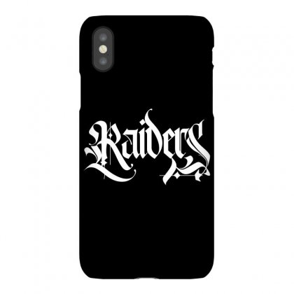 Raiders License Plate Iphonex Case Designed By Tiococacola