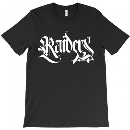 Raiders License Plate T-shirt Designed By Tiococacola