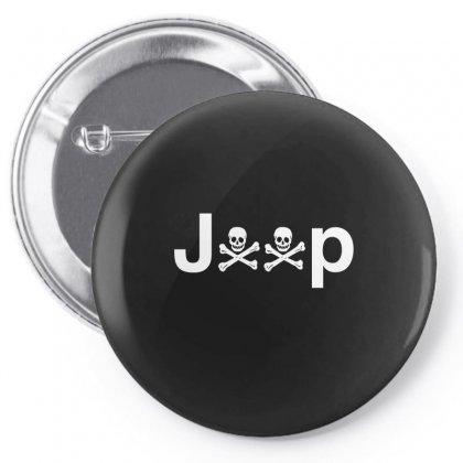 Jeep Pin-back Button Designed By Funtee