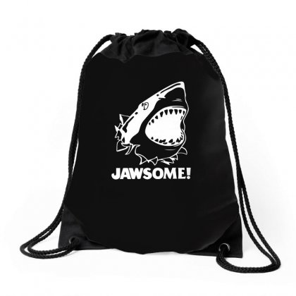 Jawsome Drawstring Bags Designed By Funtee