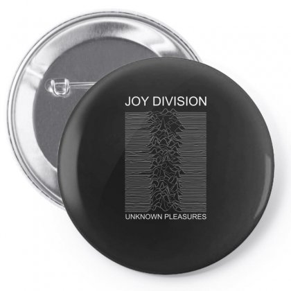 Joy Division Unknown Pleasures Pin-back Button Designed By Funtee