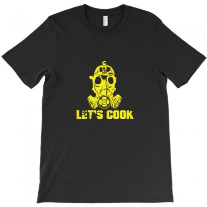 Let's Cook T-shirt Designed By Funtee