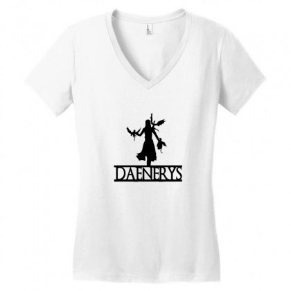 Dragons Will Be Dragons Women's V-neck T-shirt Designed By Willo