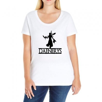 Dragons Will Be Dragons Ladies Curvy T-shirt Designed By Willo