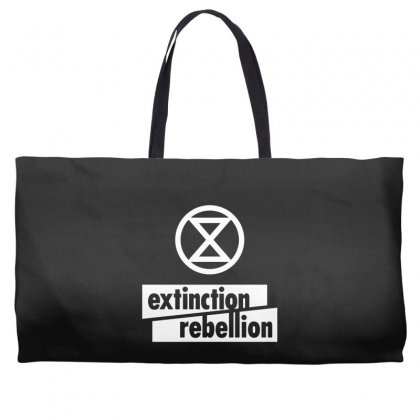 Extinction Rebellion Weekender Totes Designed By Willo