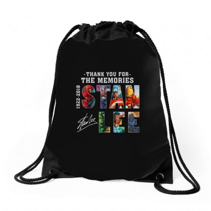 Thank You For The Memories Drawstring Bags Designed By Alan
