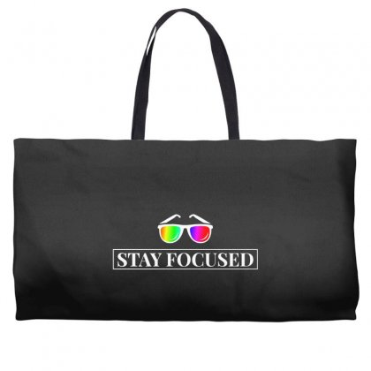Focused Weekender Totes Designed By Willo
