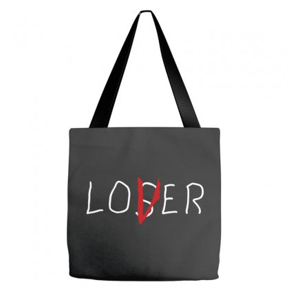 Loser Lover White Tote Bags Designed By Allison Serenity