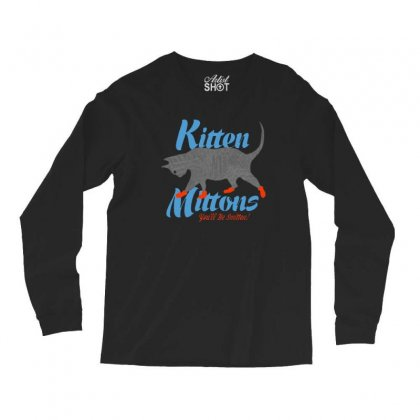 Kitten Mittons Long Sleeve Shirts Designed By Allison Serenity