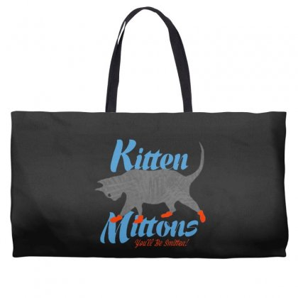 Kitten Mittons Weekender Totes Designed By Allison Serenity