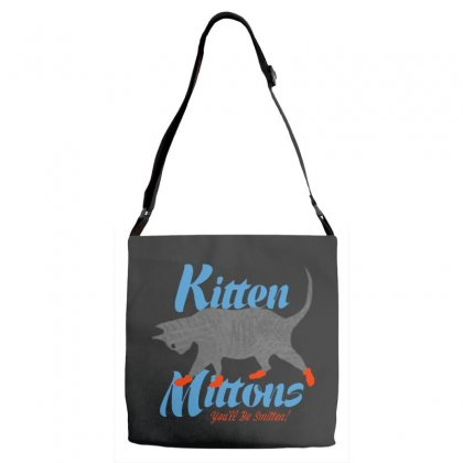 Kitten Mittons Adjustable Strap Totes Designed By Allison Serenity